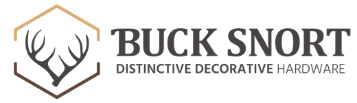 Buck Snort Distinctive Decorative Hardware Logo